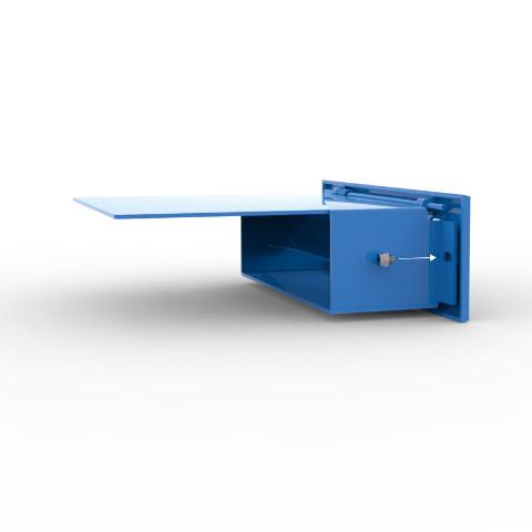 Stamford Rear Access Mailbox